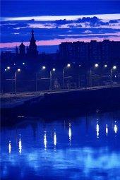 История голубого города